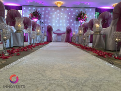 Ceremony at Royal Berkshire Hotel