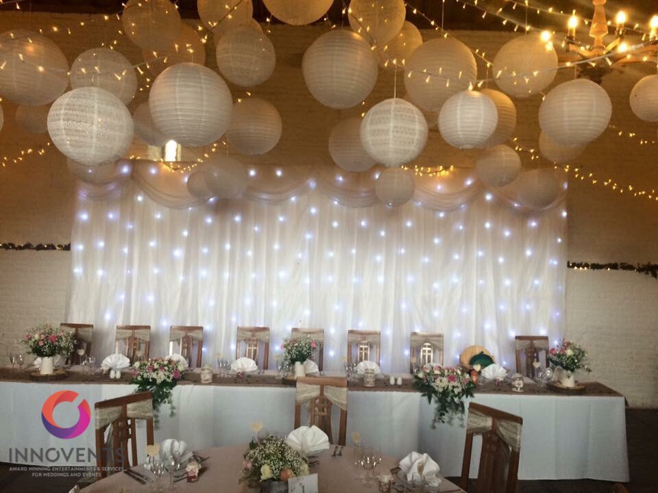 Wedding Backdrop at Ufton Court