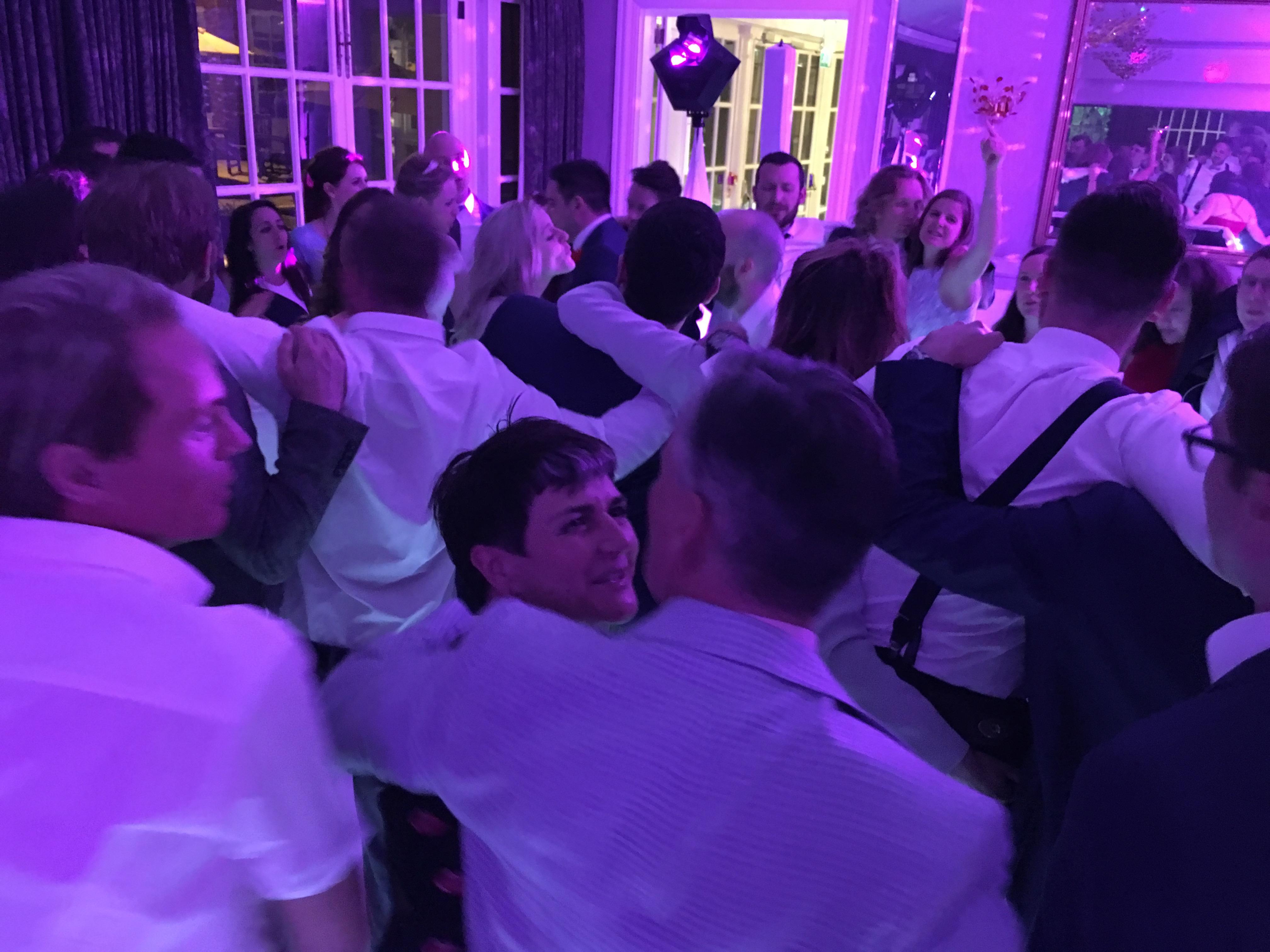 Royal Berkshire Hotel wedding disco