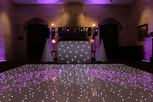 Dance floors at Warbrook House