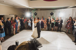 1st Dance at Warbrook House Hotel