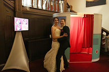 Photo booths at Easthampstead Park in Berkshire