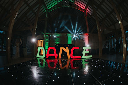 Dance Letters at Rivervale Barn