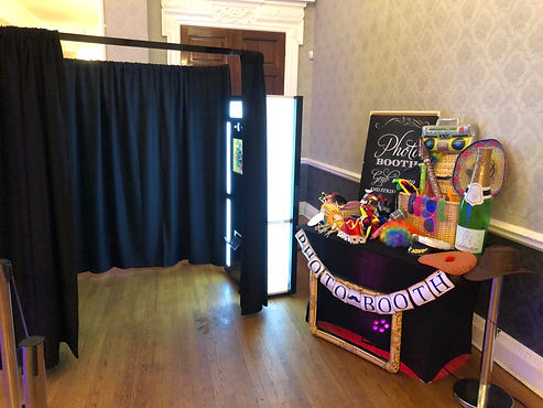 Photo Booth for Hire with Fun props
