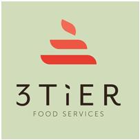 3 Tier Food Service