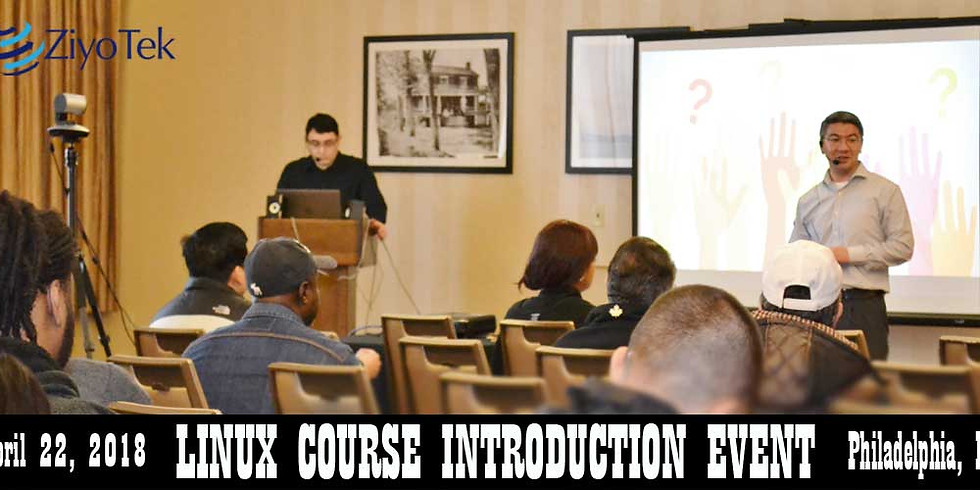 Linux Course Info Event - Philadelphia
