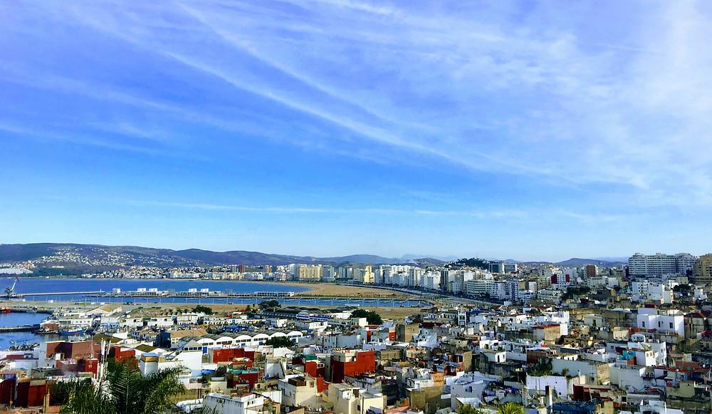 Tangier medina playa