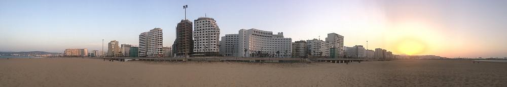 Tangier Playa beach