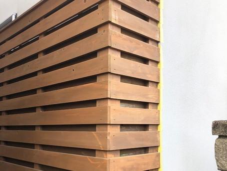木のメンテナンス DIY塗装を楽しんで~