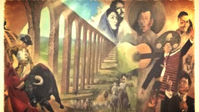 Another portion of the mural