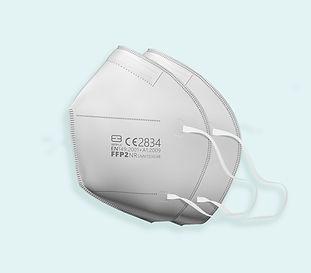FFP2 Atemschutzmaske 80 Stück - Seitenansicht
