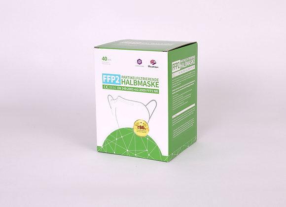 FFP2 Maske 40er Pack - Vorderansicht Verpackung