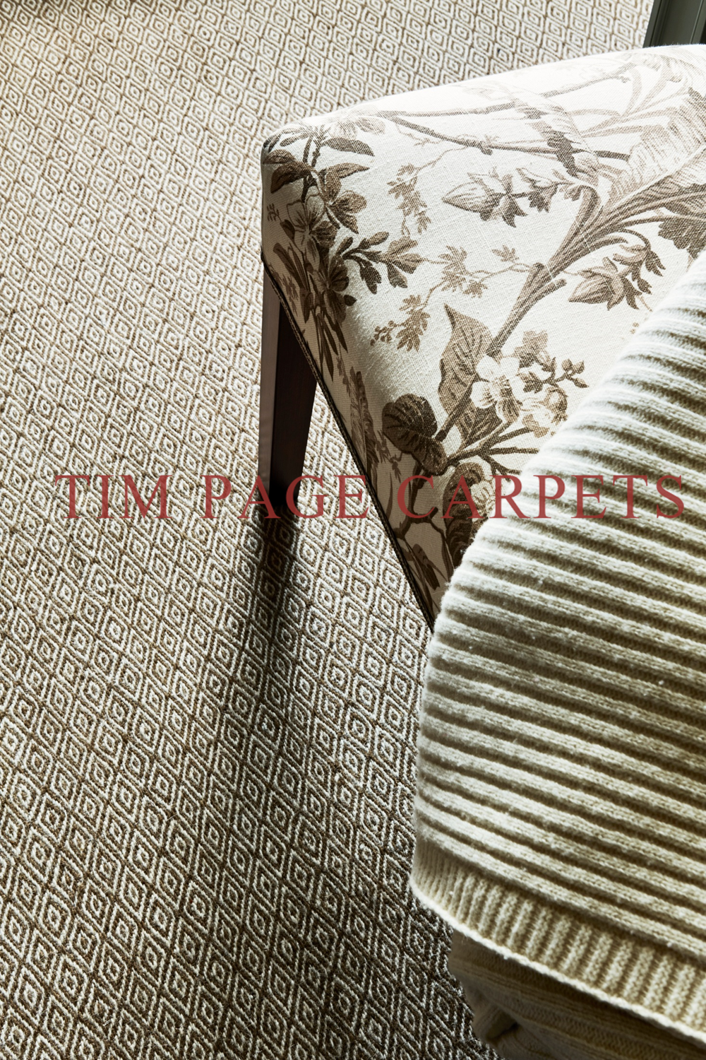 Tim Page Carpets Showroom Appointment