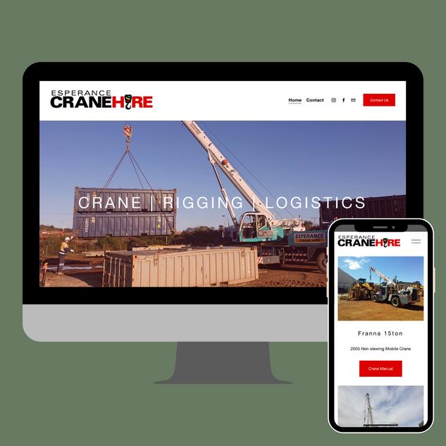 Esperance Crane Hire - Website