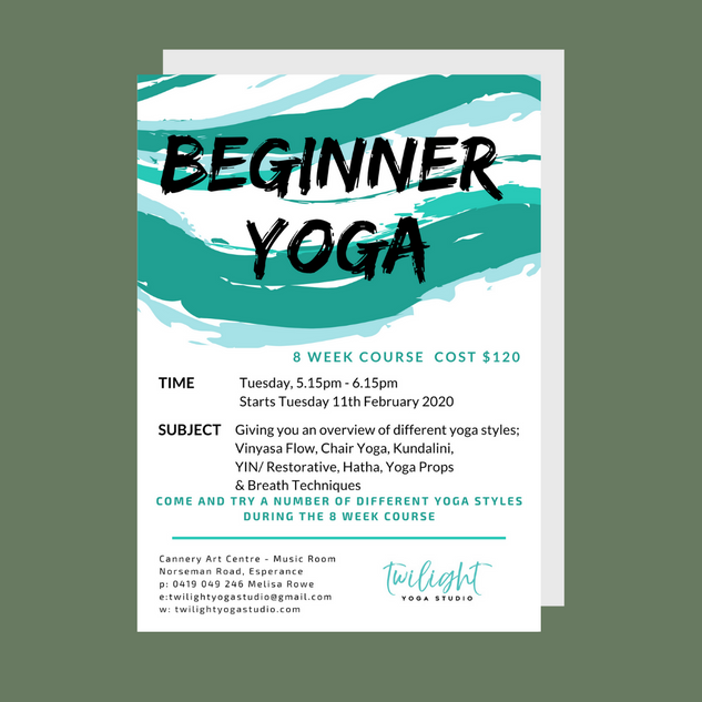 Twilight Yoga Studio & Retreats - Beginn