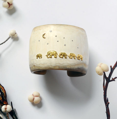 ELEPHANT ADOPTION CUFF