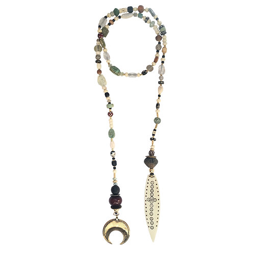 Dinka Lariat Necklace