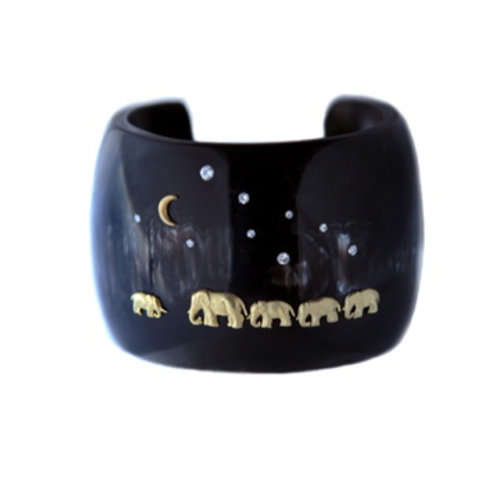 Classic Horn Tsavo Nights Cuff - Black