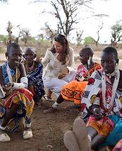 Safari tent in Africa
