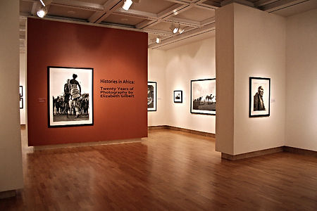 Museum photography exhibition