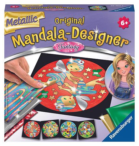 Mini Set para diseñar Mandalas Metálicos - Fantasia