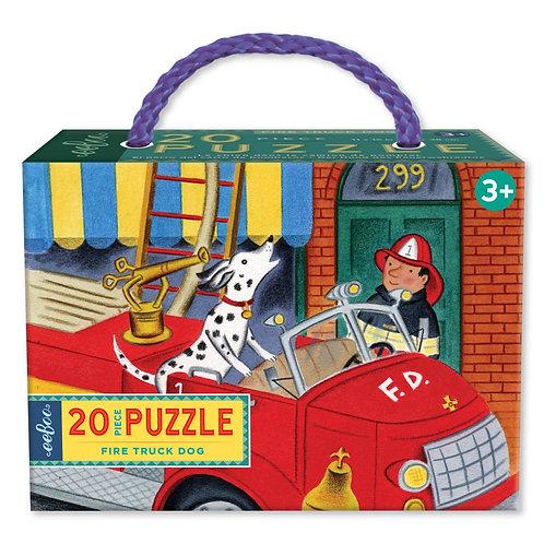 Puzzle 20p. Perro y Bombero
