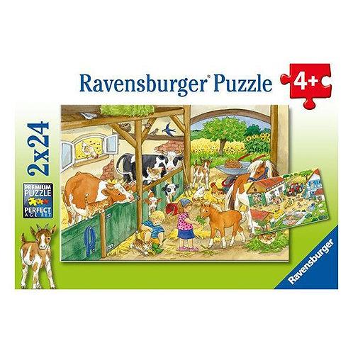 Puzzle 2x24 Vida de Campo