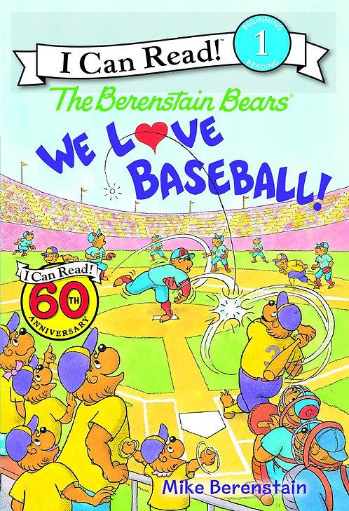 The Berenstain Bears We Love Baseball! - Beginning 1 Reading