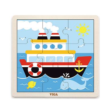 Puzzle 9p. Barco