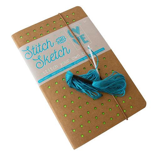 Libreta con tapa para bordar - Stitch Sketch