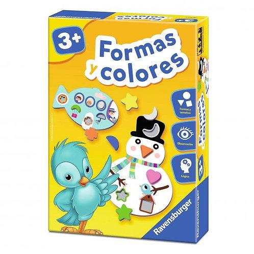 Formas y colores ruleta