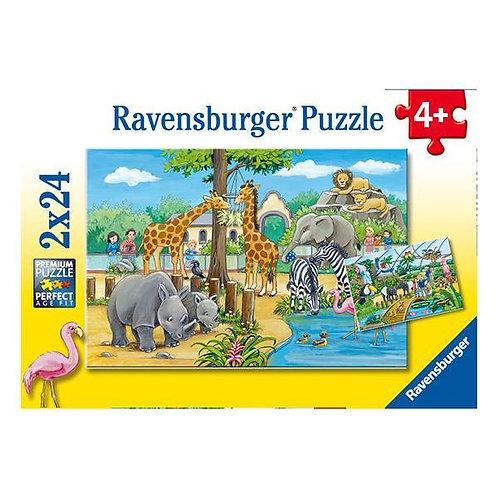 Puzzle 2x24 Zoo
