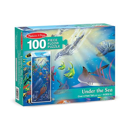 Puzzle 100p. Bajo el Mar