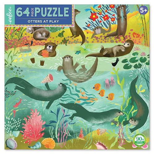 Puzzle 64p. Nutrias