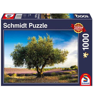 Puzzle 1000p. Olivo de Provenza