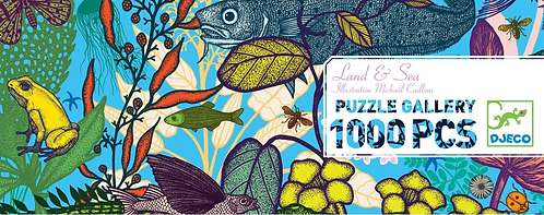Puzzle 1000p. Land and the Sea
