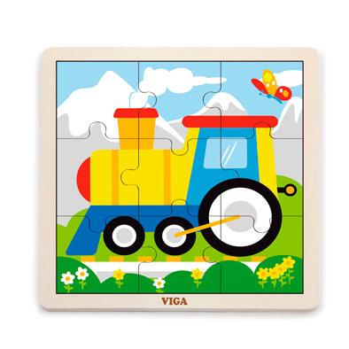 Puzzle 9p. Tren