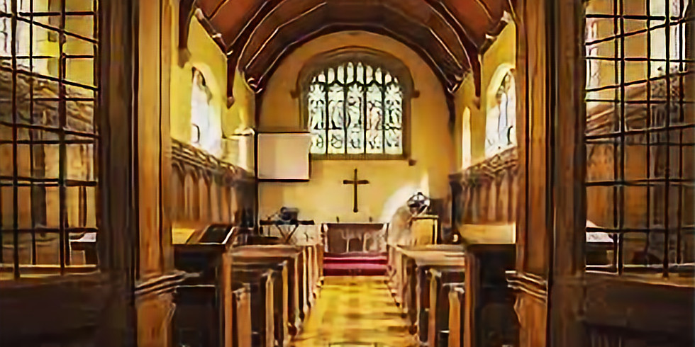 Preach at Weekly Eucharist service at Wycliffe Hall, Oxford University