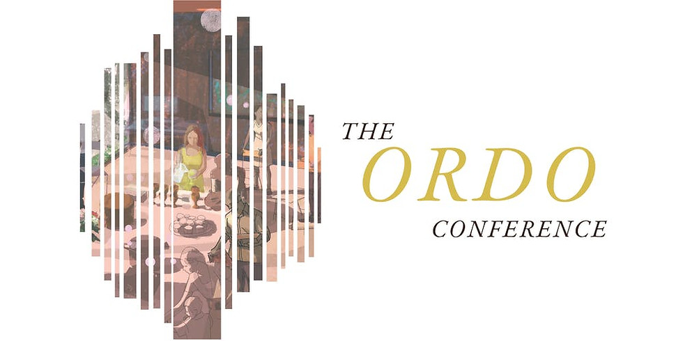 Speak at the Ordo Conference