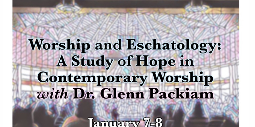 Two Day Seminar at the Robert E. Webber Institute for Worship Studies