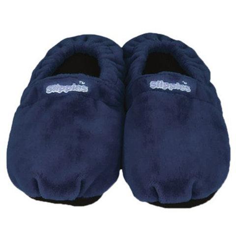 Warmies Slippers donkerblauw Maat 41/45