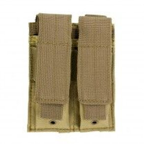 VISM® by NcSTAR® DOUBLE PISTOL MAG POUCH/TAN