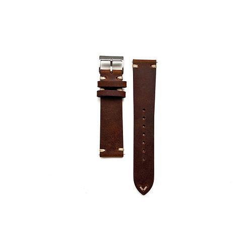 Vintage Hide Terra Cotta Leather Strap