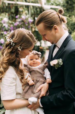 hääkuvaus vauvan kanssa Oulu