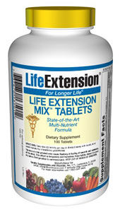 Life Extension Mix Tablets - 100 Tablets