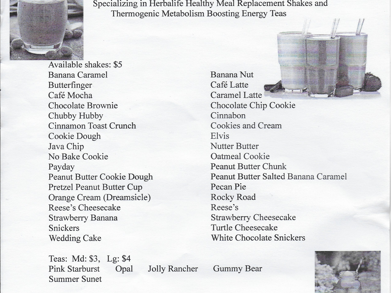 Flavor List