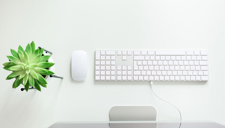 Canva%20-%20White%20Keyboard%2C%20Mouse%2C%20Succulent%20Plant%20on%20White%20Desk.%20Copy%20Space_e