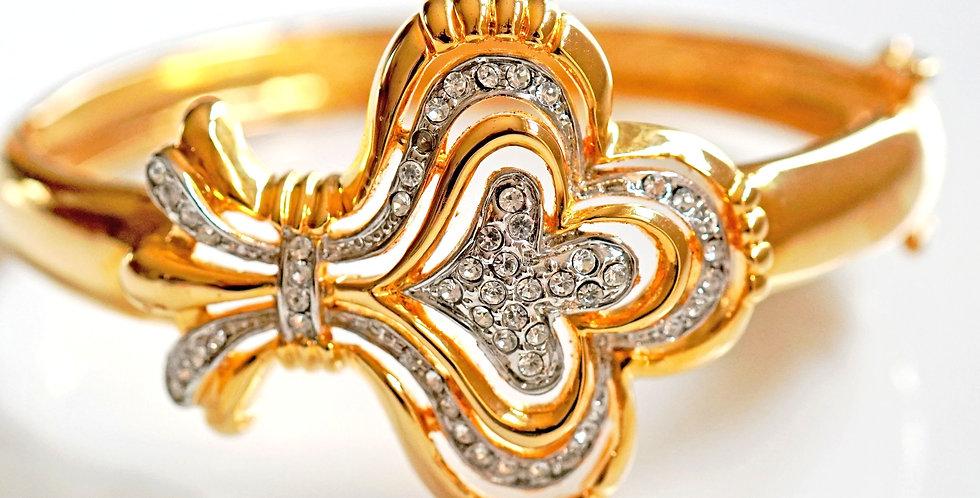 Crown Diamante Bangle
