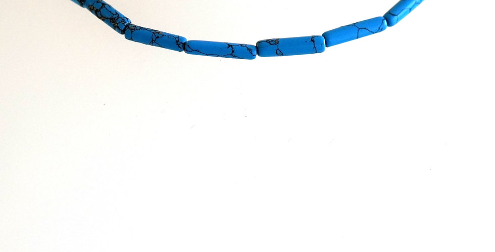Tubular Turquoise x 7