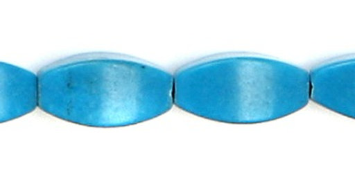 Oblong turquoise